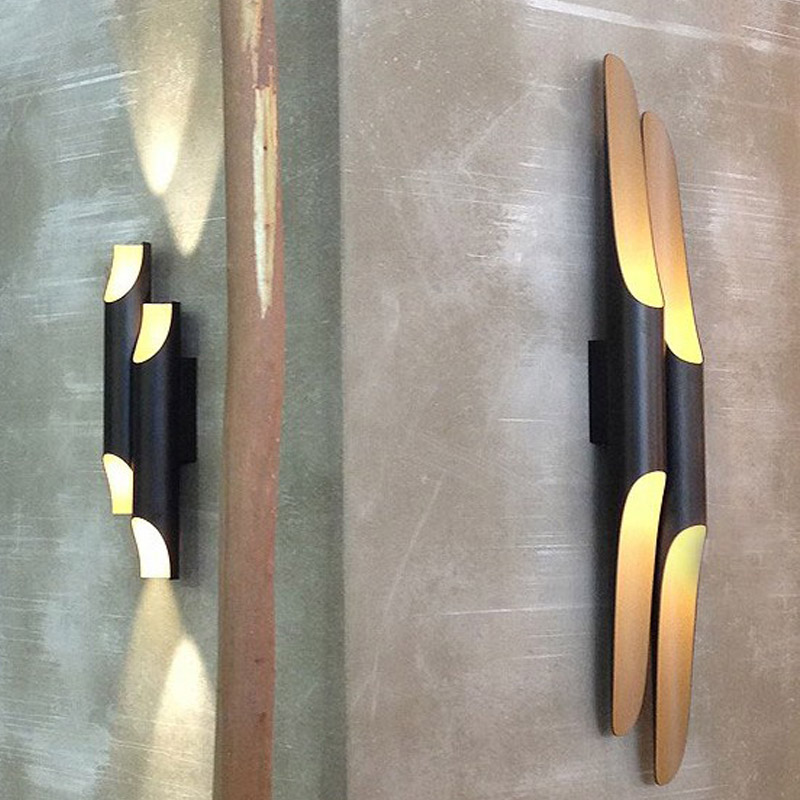 Modern Nordic Coltrane Wall Lamp Living Room Beveled aluminum cylinder Wall Sconce Wall Light luminaire Light Fixtures Lustres