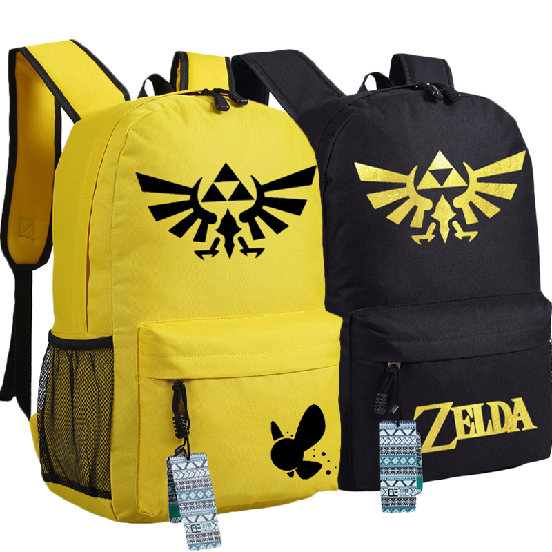 Game The Legend of Zelda LINK Canvas Printing Fashion Backpacks for Teenage Girls School Bags for Teenagers Mochila Feminina children school bag minecraft cartoon backpack pupils printing school bags hot game backpacks for boys and girls mochila escolar