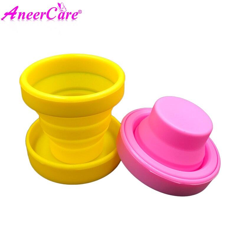 Menstrual Sterilizing Cup Coupe Menstruelle Collapsible Silicone Cups Coppetta Mestruale Sterilizer Esterilizador Copa Menstrual все цены