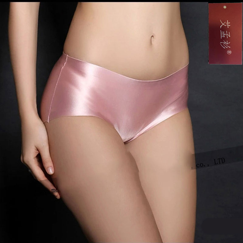 brand women underwear pink intimates female underpants Cute seamless panties  Sexy briefs Panties silky lingerie Underwear Women a520a8df83