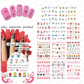 2015 NEW 50PCS/lot  BLE1962-1972 Super Cute Cartoon Figures Pattern Stickers Water Transfer Nail Tattoo: Monchhchi/Panda