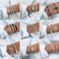 32 Styles Boho Armreif Elefanten Herz Shell Stern Mond Bogen Karte Kristall Perle Armband Frauen Charme Party Hochzeit Schmuck Zubehör