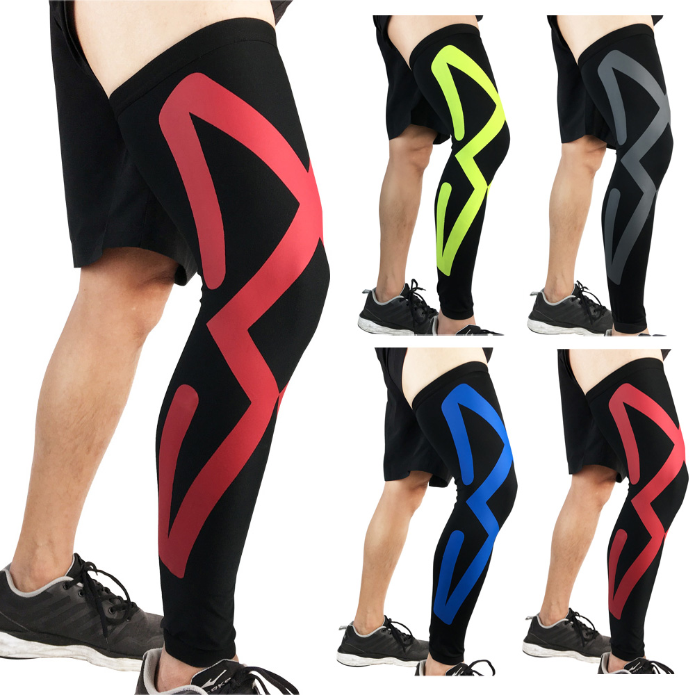 Sports Protection Knee Pads Compression Elastic Thigh Leg Sleeve Basketball 1PC LFSPR0060