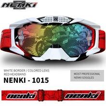 NENKI Lunettes Moto Motorcycle Glasses Men Women Off Road Glasses Motocross Goggles MX ATV Dirt Bike
