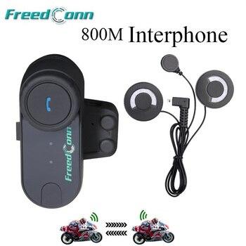 1d3bf9a9f53 FreedConn T-COM FM interkom moto Bluetooth Motosiklet Kaskı Intercom  Interkom Kulaklık + Yumuşak Tam Yüz Kask için Mikrofon