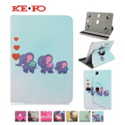 For BlackBerry PlayBook /Dell Venue 7 inch 360 Rotating Universal 7.0 inch Tablet PU Leather cover case Y4A92D