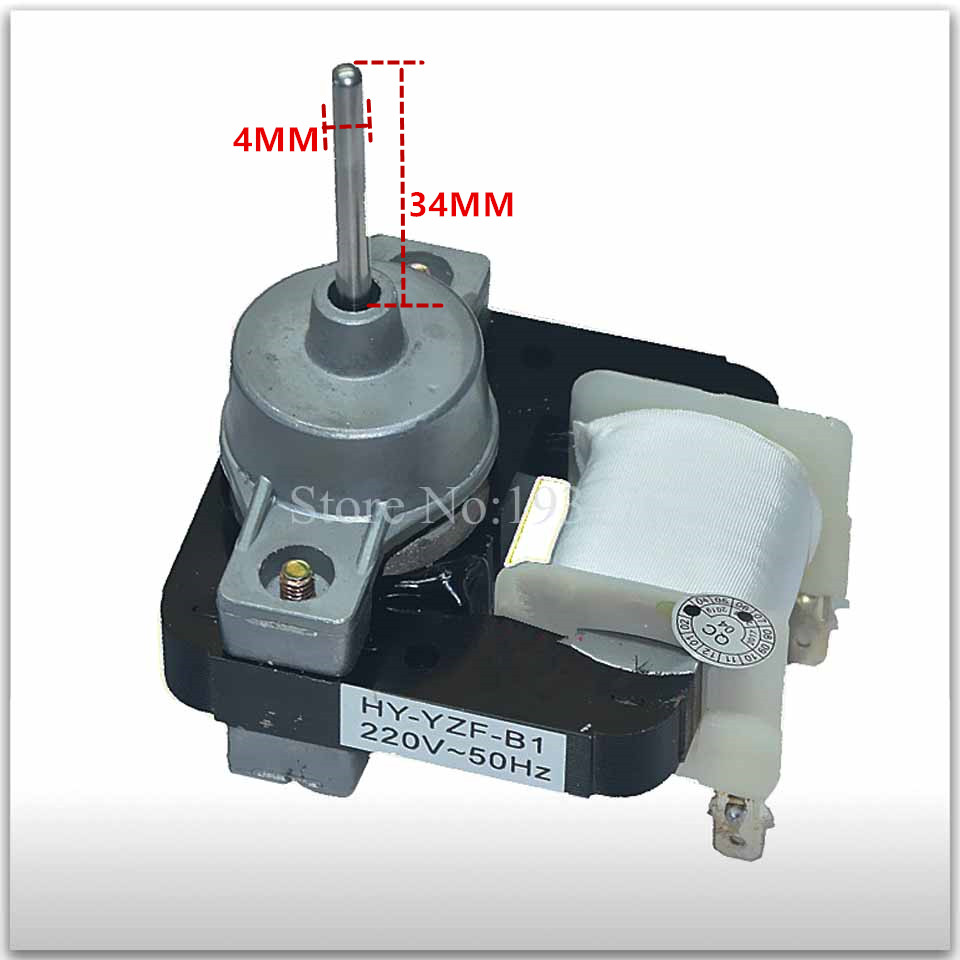 Refrigerator fan motor HY-YZF-B1 220v good workingRefrigerator fan motor HY-YZF-B1 220v good working