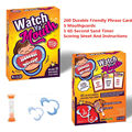 Hot Speak Out Game Watch Ya' Mouth Funny Family Mouth Guard Party Board Game Practical Jokes Practical Jokes