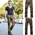 2016 Sale Real Mid Broadcloth Joggers Men's Active Pants Men, outside Camouflage Trousers Multi-pocket Pants, Cotton Loose Cargo