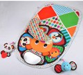 0 m 90 cm Baby Activity Mat Crawling Mat Play Mat tapete acolchado reforzar gran espejo mordedor animales león Panda elefante regalo
