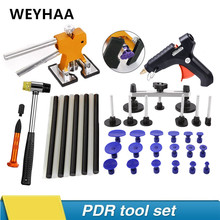 PDR Tools car paintless dent repair tool dent removal repair tool kit paintless dent puller car repair set set auto repair tool set pdr rod pdr line board tool kit with adjustment holder for car dent paintless removal