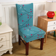Dreamworld Elastic Chair Cover for Computer/dining Room/kitchen/office Colorful Printed Chair Covers Spandex Seat Cover Wedding