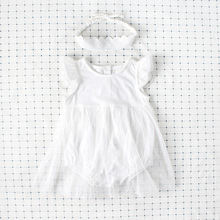 Newborn infant dress baby Girls dress Lace baby girl infant