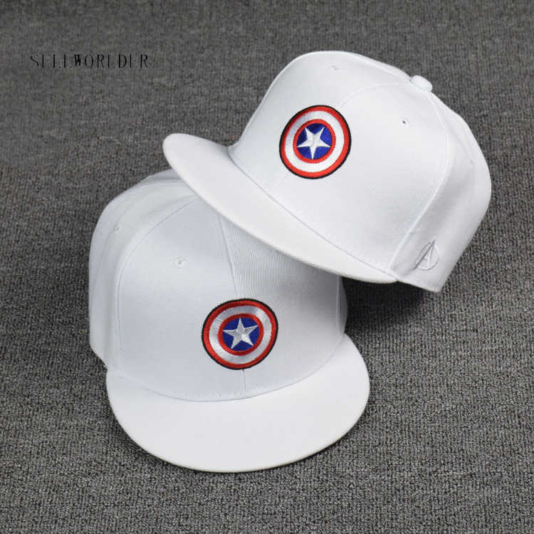 5cd0b1bbf17880 Detail Feedback Questions about SELLWORLDER Captain America Avengers Baseball  Caps 2018 Cartoon Character Casual Hip hop hat Hats & Caps on  Aliexpress.com ...