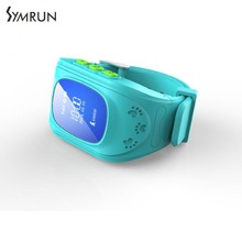 Symrun Q50 Kids Smart Watch GPS LBS Double Location Safe Children Watch Activity Tracker SOS Call for Android Watch Q50