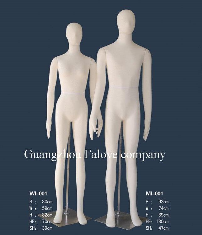 Adult Flexible Foam Mannequins Male&Female Full Body Bendable Mannequin Shop Display Bendy Mannequin Car Test Clothes Mannequin  mannequin