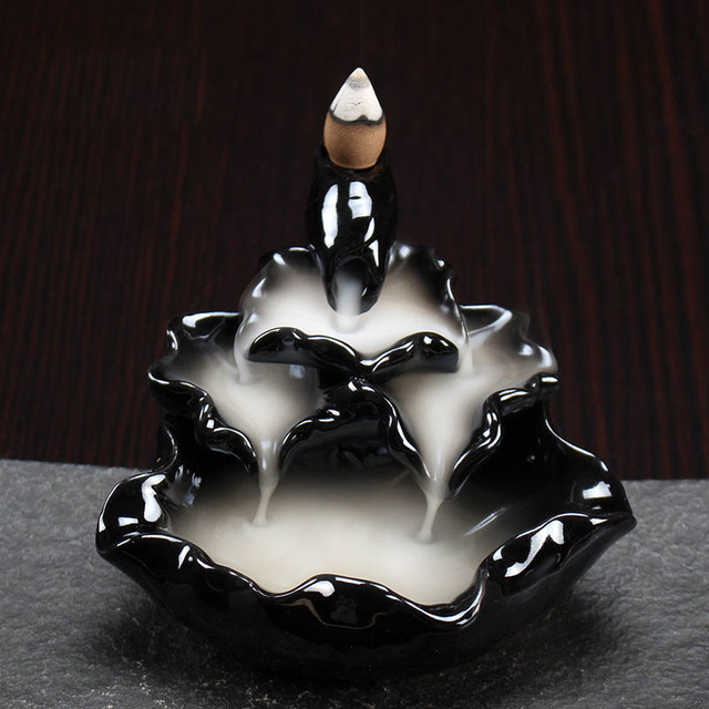 jardn zen titular palo de incienso de conos de incienso de cermica difusor de aroma