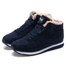 2019 الرجال أحذية رياضية الشتاء أفخم الثلوج حذاء كاجوال الرجال إبقاء أحذية دافئة الذكور أحذية رياضية في الهواء الطلق المشي Krasovki Zapatillas Hombre