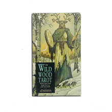 Wild Wood tarot English tarot cards  board games for children карты таро u s games systems мечты гайи dreams of gaia tarot