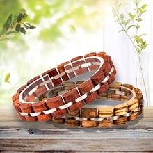 Деревянный браслет BOBO BIRD для мужчин и женщин, Мужской деревянный браслет, ювелирные изделия, подарок, большие подарки