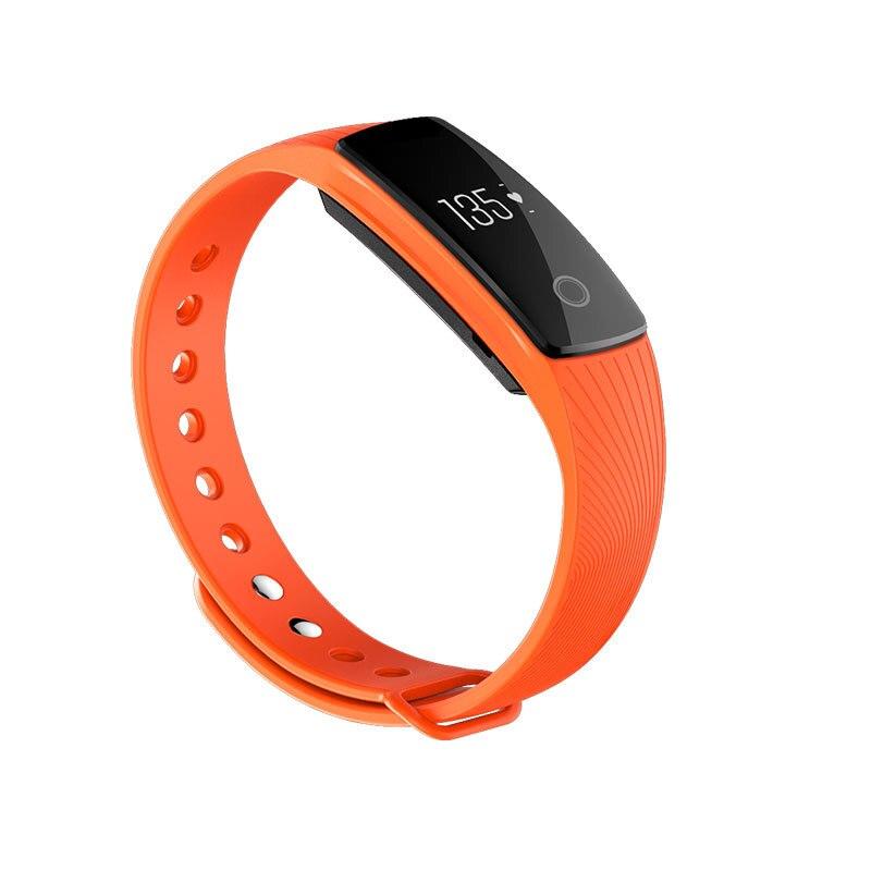 ID107 Bluetooth Smart Watch Heart Rate Monitor Sport Fitness Tracker Bracelet Pe