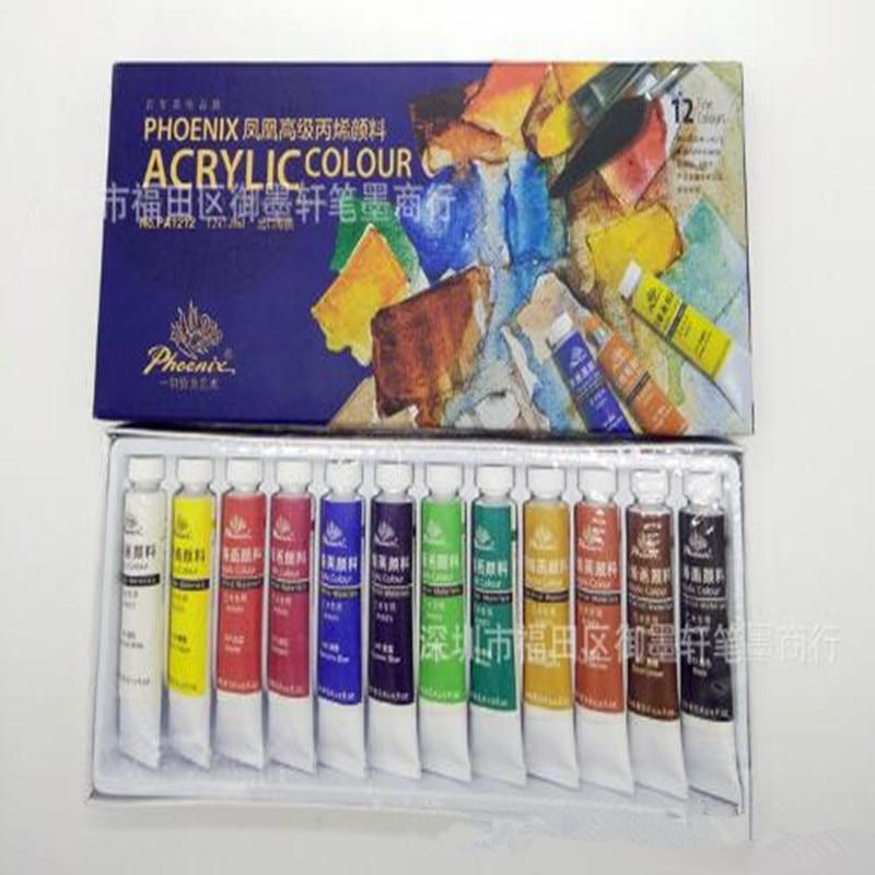 Phoenix Marque Peinture Acrylique Peinture 12/18/24 Couleur Vêtements Peinture  Murale T Shirt Peinture Sur Tissu Peinture à Lu0027huile Peinture  Professionnelle ...