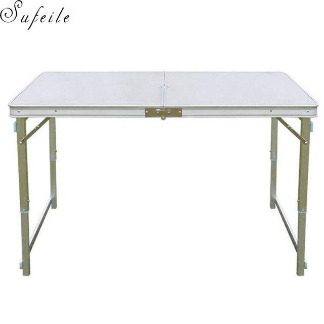 Picknick Tafel Aluminium.Sufeile Kan De Outdoor Camping Tafel Portable Aluminium Folding