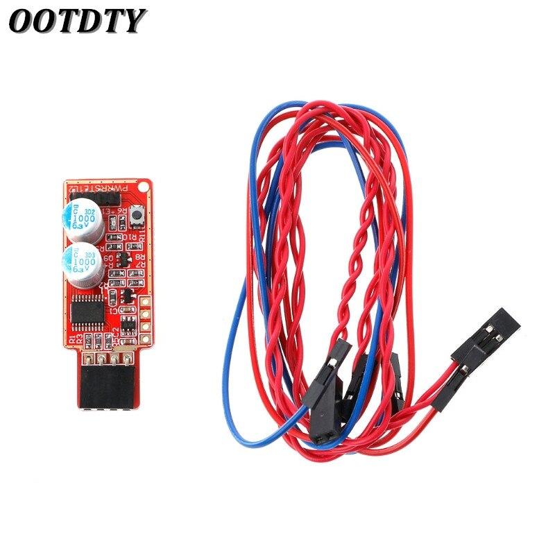 OOTDTY USB Watchdog Card V5.0 Computer Unattended Automatic Reboot Halted Blue Screen Crash/ Mining/ Game/ Server/ LTC BTC Miner