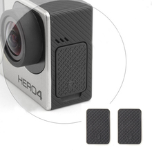 2pcs Camera Accessories For GoPro Hero 4 3+ 3 Useful Replacement Spare Part USB Side Door Cover Cap #0122 цена