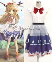 Touhou Project Ibuki Suika cosplay costume E001