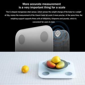 Image 3 - Xiao Mi Mi Jia Mi ส่วนประกอบขนาด 2 สมาร์ทน้ำหนักร่างกายไขมันบลูทูธดิจิตอล LED อิเล็กทรอนิกส์ BALANCE APP ข้อมูลทางเทคนิค