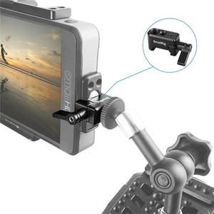 """Image 5 - SmallRig Nato Clamp Quick Release Clamp with 1/4"""" 3/8"""" M2.5 Thread for Cold Shoe Monitor Support Ball Head   1973"""