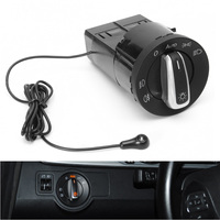 Autoleader 1set Car Auto Chrome Headlight Light Sensor Switch Module With Tools For VW Golf Mk4 Passat for Polo 1C0 941 531A