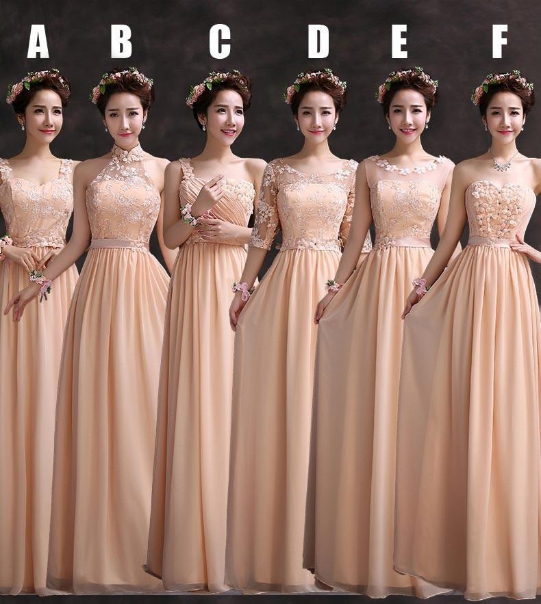 Popular Cheap Peach Bridesmaid Dresses-Buy Cheap Cheap Peach ...