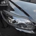 Для Ford Focus 3 углеродного волокна фары брови стикер Внешние Аксессуары украшения продуктов 2012-2014