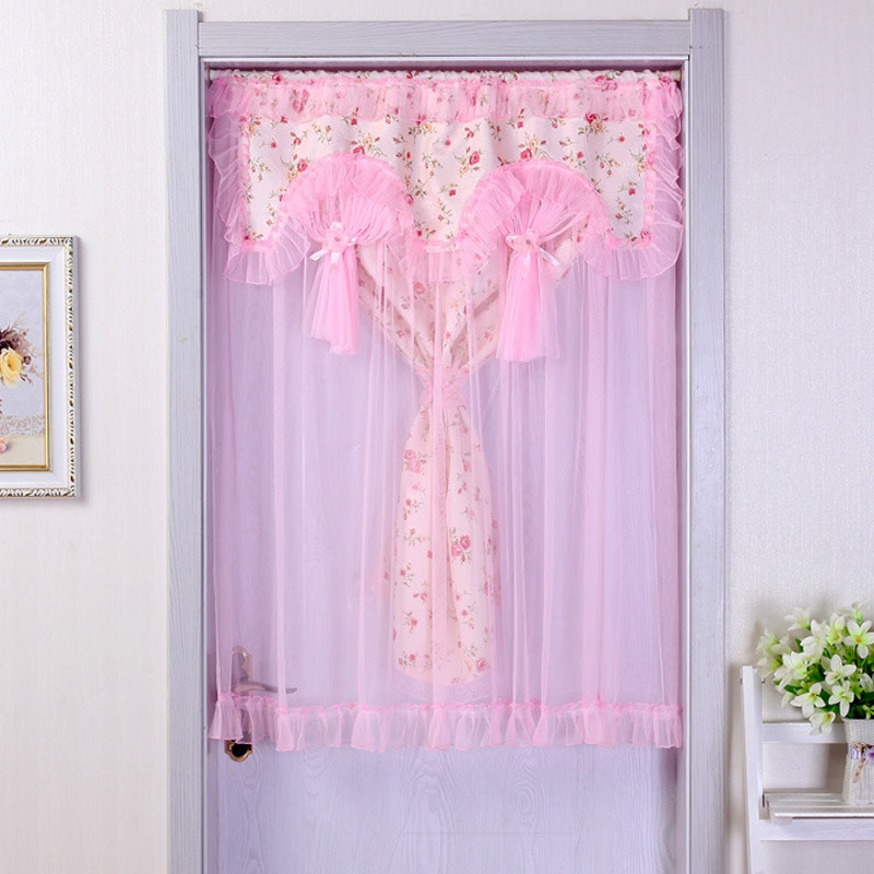 Aliexpress.com : Buy Helen Curtain 90cm*120 Cm Pink Lace