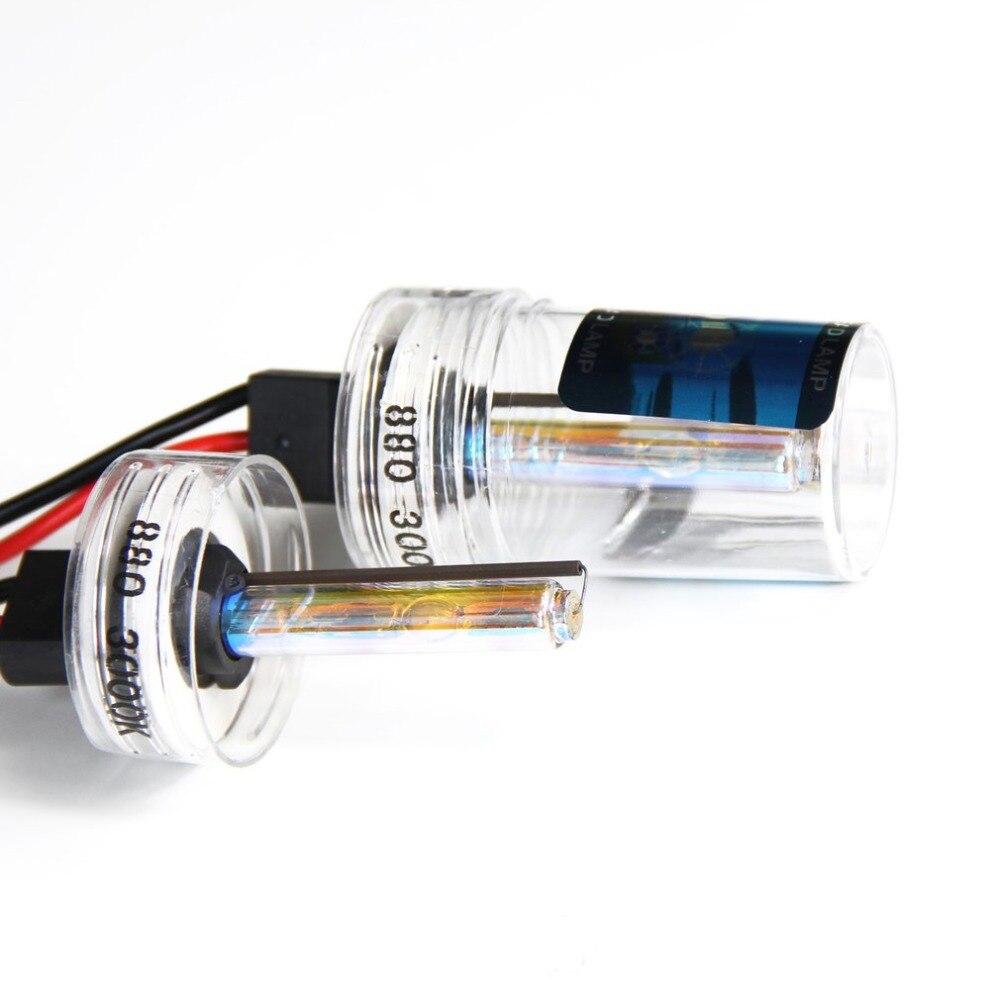 2pcs 35W Xenon Car Lamp Bulbs 880/881/H27 Super Bright HID Headlight Fog Light Xenon Bulb Light Waterproof Automobiles Lamp