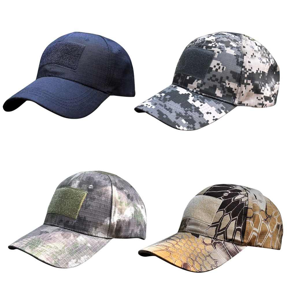 1c1a2d48b7a Digital camo tactical camouflage outdoor sports hats flag patch baseball  cap multi pattern hunting caps hunting