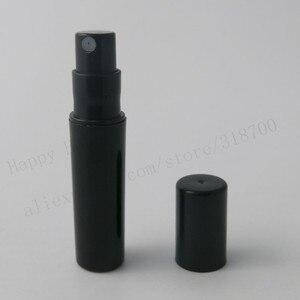 Image 3 - 100pcs/lot Empty 2ml Clear Black White cute plastic mist spray perfume bottle 2CC small promotion sample perfume atomizer
