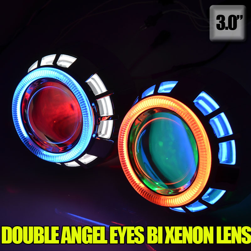 Kit de lentes de proyector hid bi xenón hid 3.0 x 35 pulgadas con - Luces del coche