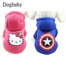 B89 New Cute Warm Dog Clothes Autumn Winter Pet Dog Hoodie Coat Soft Cotton Puppy Dog sweater Jacket For Yorkshire Chihuahua