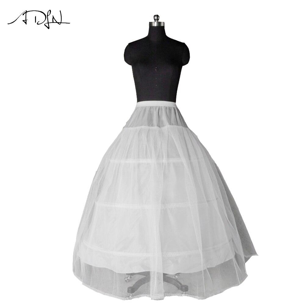 96ca13e72 Venta caliente 3 aro vestido completo hueso crinolina enagua PETTICOAT boda  falda SLIP adulto nuevo