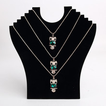 Pendant Necklace Chain Earring Jewelry Bust Display Holder Stand Showcase Rack jewelry display stand  table display недорого