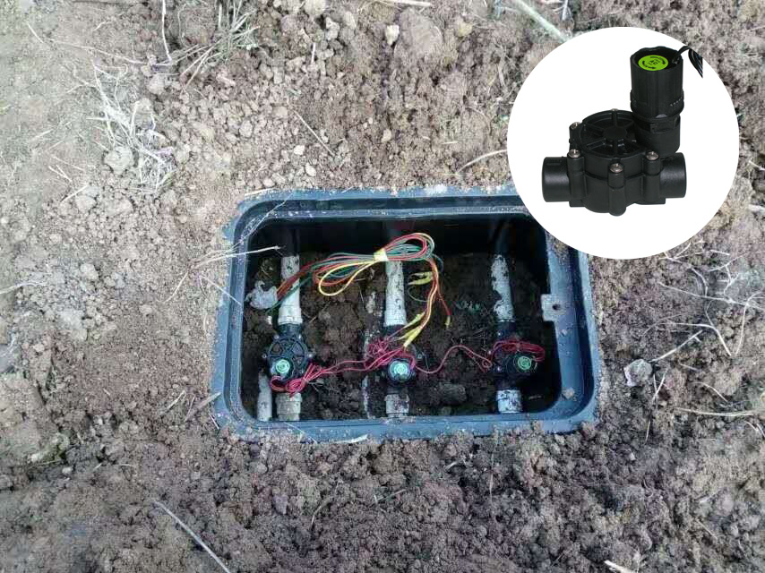 BSP 24V AC Plastic irrigation solenoid valves sprinkler solenoid valve|plastic irrigation|irrigation irrigation|valve irrigation - title=