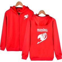 Fairy Tail Hooded Sweatshirts Men Zipper Hoodie