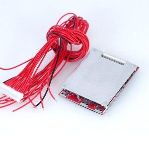 Image 5 - Scheda di protezione del circuito della batteria della bicicletta elettrica BMS 64V 16 corde 60V 30A 80A 18650 pcb batteria al litio