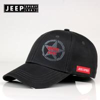 f6e9cdb4 JEEP SPIRIT Brand Spring Cotton Baseball Cap Snapback Hat Summer Hip Hop  Fitted Cap Hats For
