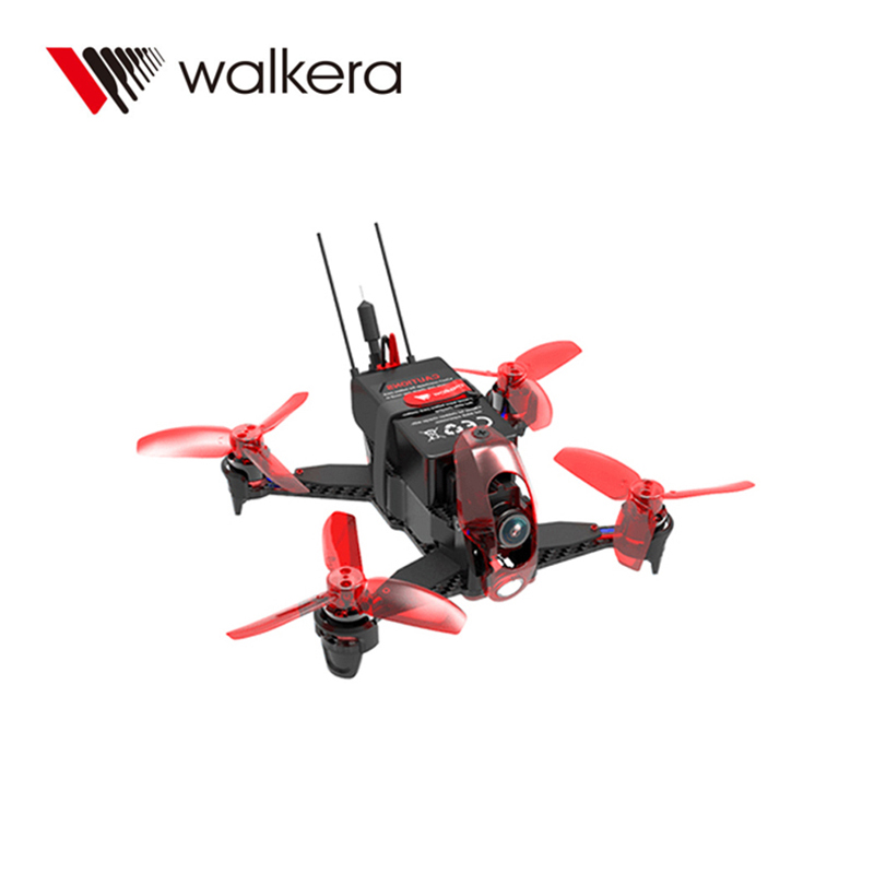 Walkera Rodeo 110 Racing Drone 110mm RC Quadcopter RTF DEVO 7 TX With Goggle4 FPV Glasses / 600TVL Camera Mini Drone