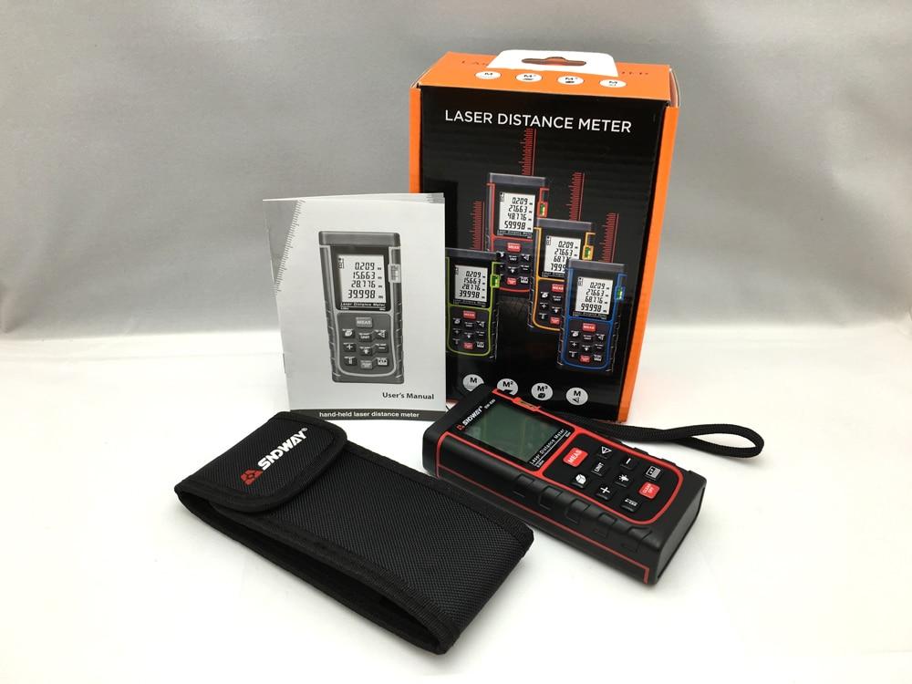 Entfernungsmesser distanzmessgerät: floureon laser entfernungsmesser