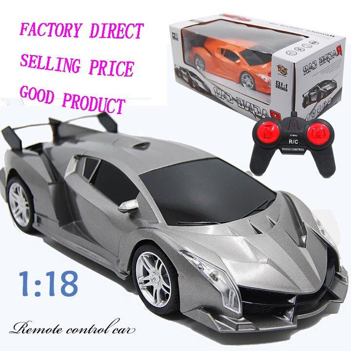 Children toys 1:18 Simulation 4CH remote control car boy toys 4 channels Rc racing car kids toys